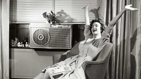 woman celebrating AC